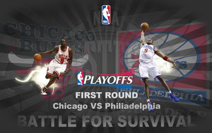 2012 NBA Playoffs - Bulls VS 76ers by CyBer03