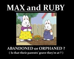 Max and Ruby: parentless by AVRICCI