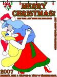 Kiss The Christmas Mink 2007 2 by tpirman1982