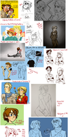 THINGS I FORGOT TO UPLOAD TO dA by silverinslette