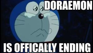 Doraemon is Offically Ending by Puppies567
