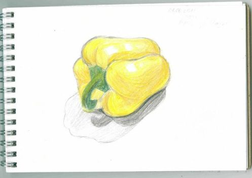 Yellow pepper by NatalieRabbid