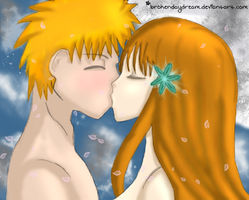 Bleach - Kiss by brokendaydream