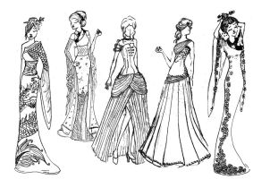 Fashion and forms by Szeth