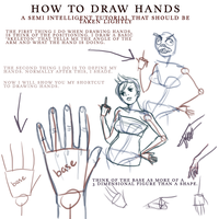draw hands by thezookeepersboy