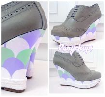 Scalloped Wedges by ponychops