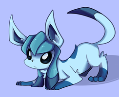 Glaceon by KuranoCat