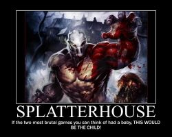 Splatterhouse by Samuraicore