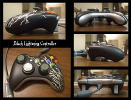 Black Lightening Controller by KyriaDori
