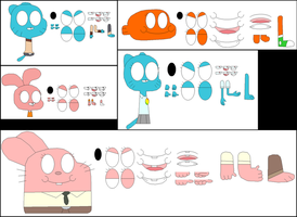 Amazing world of Gumball char builder by ggault