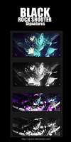 Black Rock Shooter Signatures by Cp-kun