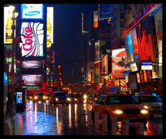 Time Square by blindspy