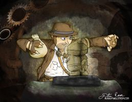 Steampunk Jones by thedustud