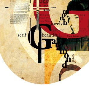Artwork: lovely garamond