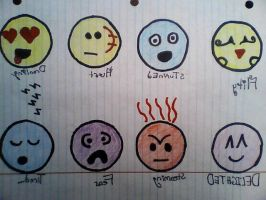 dA Smiley faces by Twins429