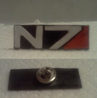 N7 lapel pin by LadyIlona1984