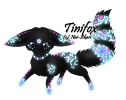 Tinifox Adopt 1: CLOSED by Akari-Adopts
