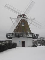 Stock: Snow Windmilll by Stock-By-Michelle