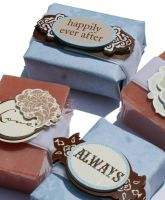 Handmade Soap Wedding Favors by soapdeli