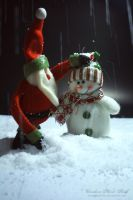 Making a snowman by pixellorac