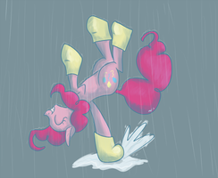 rain dance by Tinyfeather