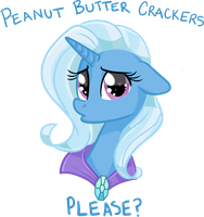 Trixie's Hungry by frostykat13