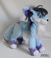 13 inch Calista Plush by dot-DOLL