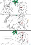 kiss me under the mistletoe by adacchi