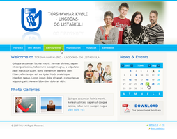 School site by outlines