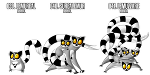 Fakemon: 39 - 41 by MTC-Studio