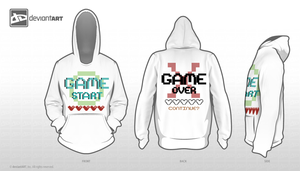 Game Over- (8bit design) by Shirazen
