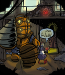 I love you Daddy. Bioshock by CraigArndt