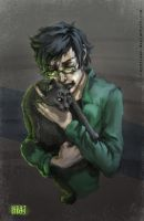 John and Dr.Meowgon by Reystleen