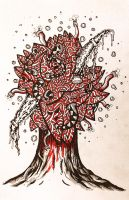 The Mystic Blood Tree by Sasms