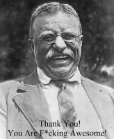 Theodore Roosevelt by SouthernNerd