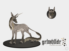 Grimhildr : Doe : Soldier by lXxMellodyxXl
