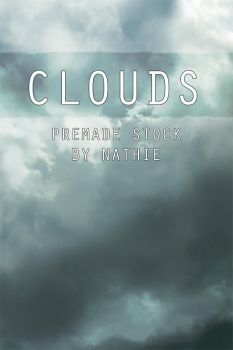 Clouds Premade Background by nathies-stock