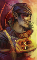 Iorveth - Witcher 2 by QuyenT