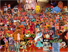 The Muppet Theater by MoFrackle
