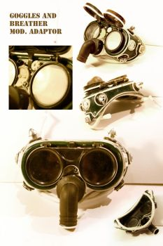 Goggles unpainted by ariscene