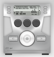Cd player icon by FocusMan