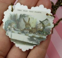 The Mad Tea Party Necklace by FatallyFeminine