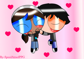 PC ~ 2P Antonio  X Aly - PPG [Whit effects] by SpeedAtrsofPPG