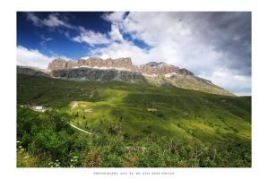 Sella, Dolomites - II by DimensionSeven
