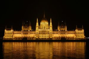 Hungarian Parliament by Destroth