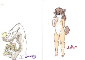 Jenny and Lola need a home :3 by lfraysse