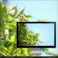 Wisteria wallpaper by buzzstorm