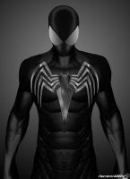 Black Suit in The Amazing Spider-man by Timetravel6000v2