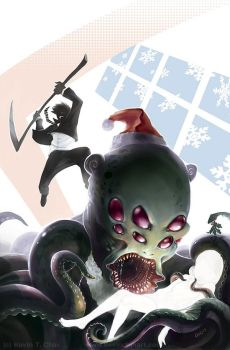 The Octo-Claus by Chenzan