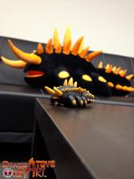 Salamander in the SOTA offices by StateOfTheArt-toys